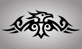 Tribal Eagle tattoo Stock Images