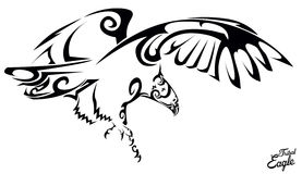 Tribal eagle Stock Images