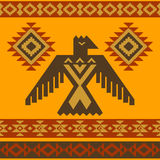 Tribal eagle vector illustration Stock Photos