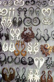 Tribal earrings Royalty Free Stock Photos