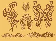 Tribal element design Stock Image