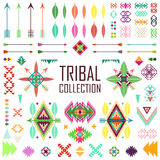 Tribal elements collection Stock Photo