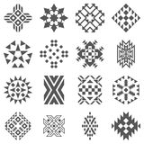 Tribal elements of pattern Royalty Free Stock Photography
