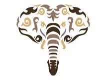 Tribal elephant illustration Stock Photo