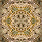 Tribal etching kaleidoscope royalty free stock images