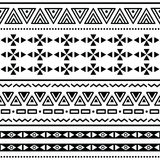 Tribal ethinc ztec seamless pattern Stock Photo
