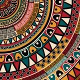 Tribal ethnic background Royalty Free Stock Photo