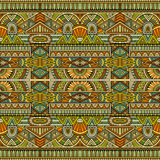 Tribal ethnic background seamless pattern Stock Photography