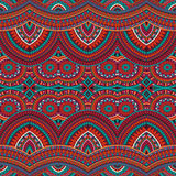 Tribal ethnic background seamless pattern Royalty Free Stock Photography