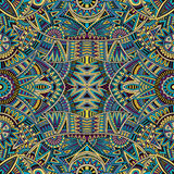 Tribal ethnic background seamless pattern Stock Photos