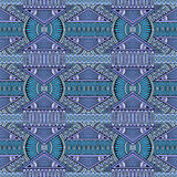 Tribal ethnic background seamless pattern Stock Photos