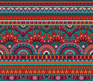 Tribal ethnic background seamless pattern Royalty Free Stock Photo