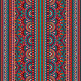 Tribal ethnic background seamless pattern Stock Images
