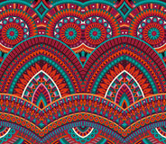 Tribal ethnic background seamless pattern Stock Illustration