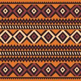 Tribal ethnic colorful bohemian pattern with geometric elements, African mud cloth, tribal design. Vector illustration vector illustration