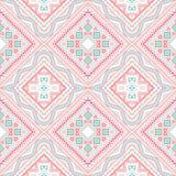 Tribal ethnic corner pattern. illustration Royalty Free Stock Photography