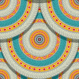 Tribal ethnic geometric seamless Stock Photography