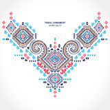 Tribal ethnic Mexican  ornament. Royalty Free Stock Image