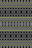 Tribal,ethnic pattern Stock Images