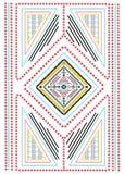 Tribal, ethnic print. In vector Stock Image