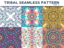 Tribal ethnic seamless pattern abstract background Royalty Free Stock Photography