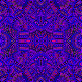 Tribal ethnic seamless pattern Stock Images