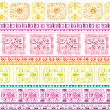 Tribal ethnic seamless pattern Stock Photo