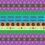 Tribal ethnic seamless pattern. It can be used for cloth, bags, Stock Photo
