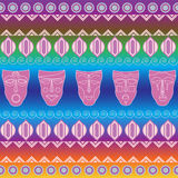 Tribal ethnic seamless pattern. It can be used for cloth, bags, Stock Images