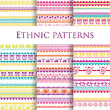 Tribal ethnic seamless pattern Royalty Free Stock Images