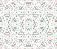 Tribal ethnic seamless pattern. Vector Stock Image