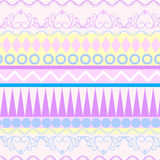 Tribal ethnic seamless pattern Stock Image