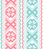 Tribal ethnic seamless pattern Royalty Free Stock Photo