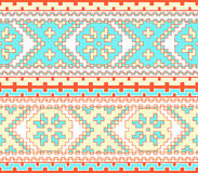 Tribal ethnic seamless pattern Royalty Free Stock Image