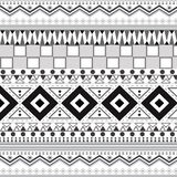 Tribal ethnic seamless patterns. Royalty Free Stock Images