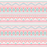 Tribal ethnic seamless stripe pattern Stock Images