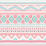 Tribal Ethnic Seamless Stripe Pattern. Vector Stock Photo