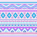 Tribal Ethnic Seamless Stripe Pattern. Vector Royalty Free Stock Photography