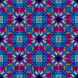 Tribal ethnic style geometric greek vector seamless pattern. Col. Orful ornamental abstract background. Repeat multicolor geometrical backdrop. Tribe decorative vector illustration
