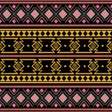 Tribal ethnic vintage colorful trendy seamless pattern vector illustration for fashion textile print aztec african style royalty free stock photo