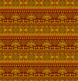 Tribal ethno seamless background Royalty Free Stock Photos