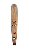 Tribal Face Mask. A Wooden Carved Traditional Tribal Face Mask Royalty Free Stock Photography