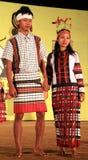 Tribal fashion show Stock Image