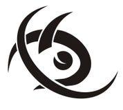 Tribal fish symbol Stock Photo