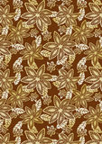 Tribal floral print Royalty Free Stock Image