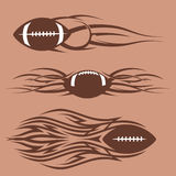 Tribal Footballs Stock Photos