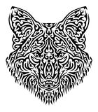 Tribal Fox Vector Illustration Stock Image