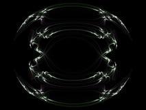 Tribal Fractal. Picture of a tribal fractal design vector illustration