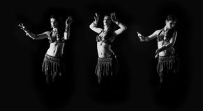 Tribal Fusion dancer Royalty Free Stock Images