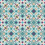 Tribal fusion geometric pattern royalty free illustration